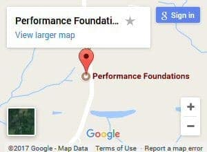 Performance Foundations Map